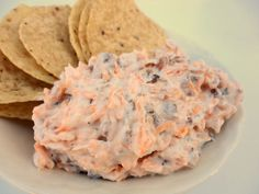 """""""Crack Dip""""--so simple & delicious! one block of cream cheese, 3 oz of bacon bits, a cup of shredded cheddar cheese and a packet of ranch dressing seasoning. Perfect for football tailgates and parties!"""