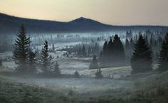 Haunting Landscape Photographs of Middle Europe by Kilian Schoenberger