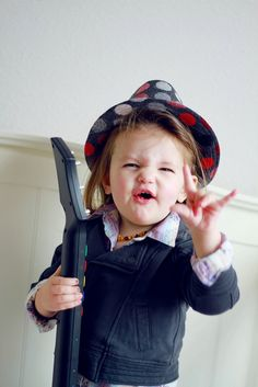 Rock on! Precious Child...