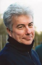 Ken Follett ... great suspense/historical fiction author.  His site is here:  http://www.ken-follett.com/home/index.html