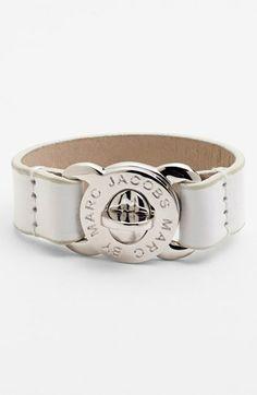 MARC BY MARC JACOBS 'Turnlock' Leather Bracelet | Nordstrom