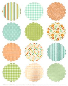 Round Labels Template Free the Best Printable Stickers Round Free Printable Stickers, Gift Tags Printable, Free Printables, Easter Stickers, Round Stickers, Easter Printables, Spring Has Sprung, Journal Cards, Clipart