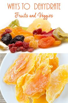 Ways to Dehydrate Fruits and Veggies :: Have you considered ways to dry/dehydrate fruits and vegetables as an alternative to canning or freezing?
