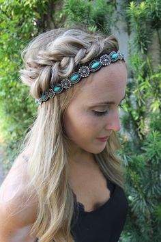 Teal Lush by Headbands of Hope :)