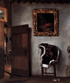 Hendrick van der Burgh (1627–after 1664) Dutch Interior Date	circa 1660