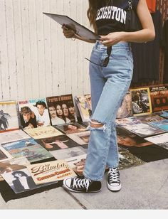 53 Ideas How to Achieve Vintage Street Style Fashion Fashion Outfits Achieve fashion ideas street style vintage Street Style Outfits, Indie Outfits, Grunge Outfits, Retro Outfits, Cute Casual Outfits, Fashion Outfits, Date Outfits, Grunge Street Style, Hijab Fashion