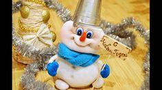 Снеговик своими руками из чулка /  How to make a snowman of tights?