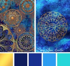 Color Inspirations – Deep Sea Luster