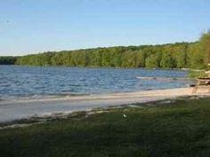 Big Bass Lake, Poconos, PA...such special times!