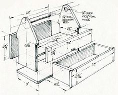 How to Build a Toolbox: Simple DIY Woodworking Project - Popular Mechanics thoughts Sir? Small Woodworking Projects, Woodworking Quotes, Easy Wood Projects, Learn Woodworking, Popular Woodworking, Woodworking Furniture, Woodworking Plans, Woodworking Crafts, Woodworking Machinery