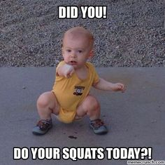 Fitness Memes 22 Hilarious Squat Memes That'll Make You Lose It Humour Fitness, Gym Humour, Fitness Motivation, Workout Humor, Funny Workout Quotes, Gym Fitness, Funny Quotes, Funny Humour, Muscle Fitness