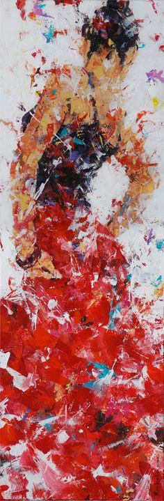Dorus Brekelmans | schilderkunst thema's strand – kind – dans – portret | IROK