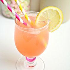 Homemade Fresh Peach Lemonade!