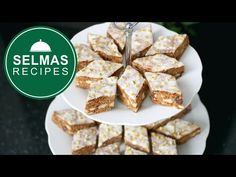 Spice Cookies, Cookie Bars, German Christmas Cookies, Biscuits, Almond Bars, Bread Recipes, Fun Recipes, Gingerbread, Good Food