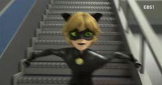 Gotta go fast - Miraculous Ladybug GIF