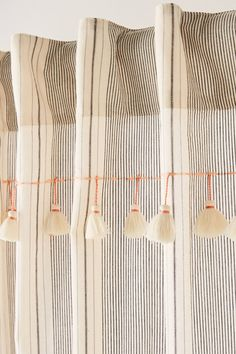 Tasseled Ginny Curtain | Anthropologie