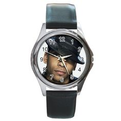 J. Holiday 1 Round Metal Watch