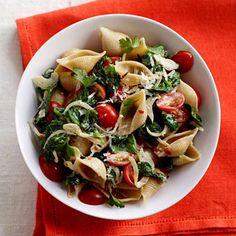 Spinach-Tomato Pasta Shells + 10 Tasty Tomato Recipes | health.com