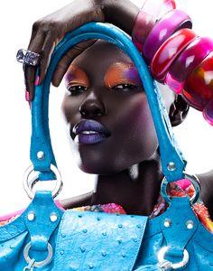 Fashion makeup #PhotographySnob #SixtyColborne