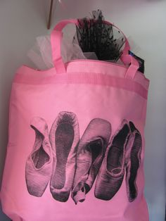 Pointe Shoe dance bag