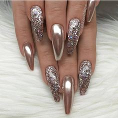 45 Best Nails Decorated with Nail Stickers 2019- Page 10 of 45 - Nail Designs & Manicure Blog