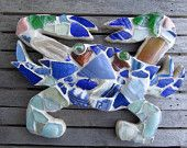 Sea Glass Crab from Chesapeake Sea Glass Creatures