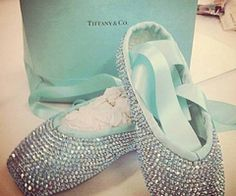 Tiffany's pointe shoes