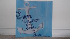 Anchor for my soul...