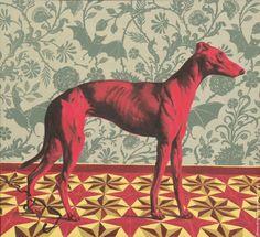 Красная собака