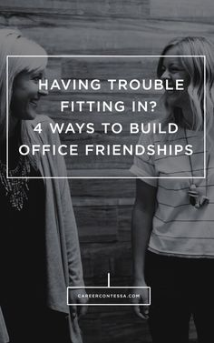 Having a hard time meeting people in the office? Here's how to build friendships