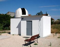 Pedro Ré's Astronomical CCD Imaging Page - dome observatory