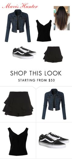 """""""Grown-Up Time (Mavis Hunter)"""" by nicolemarygreen on Polyvore featuring River Island, LE3NO, ADAM and Topshop"""