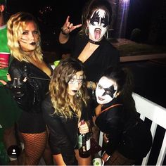 kiss costumes college halloween costumes kiss