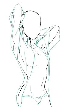 Drawing Body Poses, Body Reference Drawing, Drawing Reference Poses, Female Pose Reference, Arte Com Grey's Anatomy, Anatomy Art, Body Drawing Tutorial, Sketch Poses, Art Inspiration Drawing