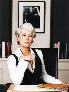 Meryl Streep, Miranda Priestly, Prada Outfits, Devil Wears Prada, Professional Portrait, Business Portrait, Photoshoot Inspiration, Boss Lady, Business Women