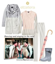 """""""Spring Etcetera 2017: Elemental Anorak, Sanctuary Sweater, and Striped Twill Pant"""" by timirac on Polyvore featuring Post-It, Hatley and Hunter"""
