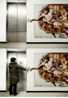 The Sistine Elevator! Love it!