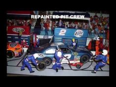 ▶ The most realistic NASCAR 1:32 slot car track St-Hubert Speedway - YouTube