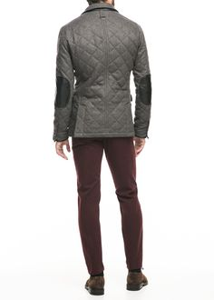 Herringbone husky jacket | MANGO MAN