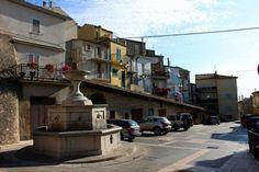 Casa di mio nonno.  La fontane dove nonno e nonna sei conosciuto. Fontane di Tornareccio, Abruzzo
