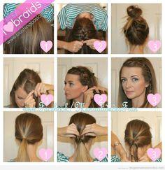 Uñas y peinados: 3 peinados más!
