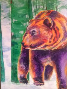 Grizzly in the Forest, Brother Bear- Jyner Dickerson