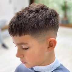 Popular Boys Haircuts, Cool Boys Haircuts, Boy Haircuts Short, Toddler Haircuts, Little Boy Hairstyles, Hairstyles Haircuts, Modern Boy Haircuts, Hairstyles For Kids Boys, Funky Hairstyles