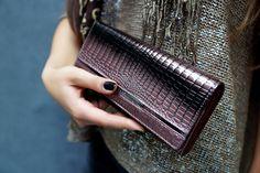 Portfel marki Loren ze skóry naturalnej /  Leather wallet / www.elfrika.pl