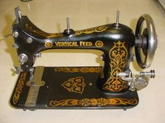 Davis Vertical Feed sewing machines photo guide