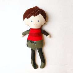 Little Brother Doll  Matthew by SquishyBee on Etsy, $30.00