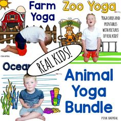SAVE 20% When You Buy In A Bundle Kids yoga may improve concentration, reduce anxiety, or reduce stress. Start out on the right foot with the Animal Yoga Bundle! Included in this bundle is 3 themed sets of yoga with real kids in the poses. Click on each link below to see previews of each …