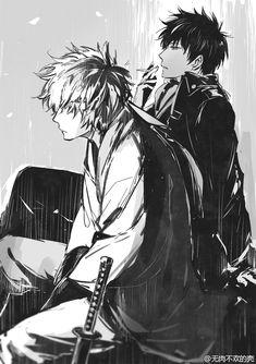 Hijikata & Gintoki | Gintama