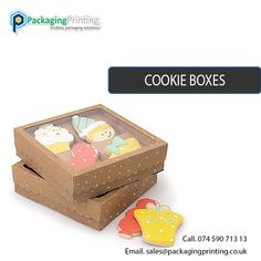 Get Instant quote for #Custom #Cookie #Boxes. Email us your requirements