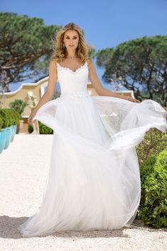Explore the extensive collection of wedding dresses by Ladybird Bridal online. Affordable, stylish wedding dresses with the perfect fit for any figure. Lace Wedding Dress, Wedding Dresses 2018, Wedding Dress Styles, Designer Wedding Dresses, Bridal Dresses, Marie, Elegant, Dress Collection, Bridal Collection